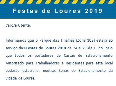 Festas de Loures 2019