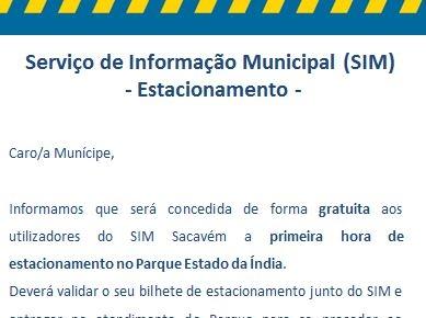 Atendimento Municipal de Sacavém: Loures Parque, EM oferece a 1ª hora de estacionamento